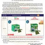 Thông báo thay đổi quy cách sản phẩm GinkoDaiso Fort